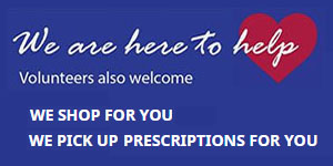 we shop for you - we pick up prescriptions for you